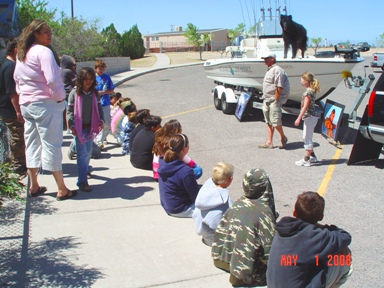We organized a Demonstration of Outdoor Vocational Opportunities for the Children of Sierra Elementary School