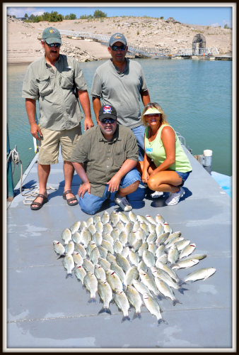 White Bass Fishing with El Paso's Jojo in the morning