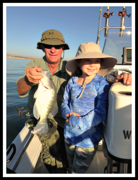 Bring the Kids White Bass and Crappie Fishing with Billy Jack Miller