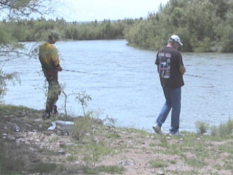 Fishing the Rio Grande River